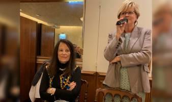 Femmes Débat Société recevait Irène FRAIN le mardi 10 septembre 2019